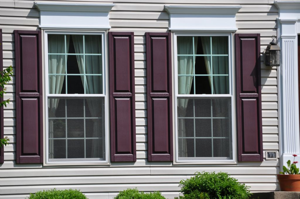 Marvin Infinity Double Hung Windows With New Shutters And Headers