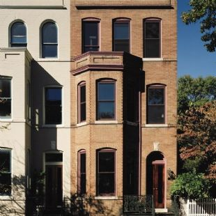 Old Town, Alexandria (Pitt St.) - Mon-Ray custom color secondary windows w/1/4