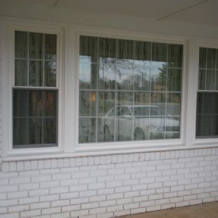 Fairfax - Soft-Lite Bainbridge, double pane double hung, lowE/Double hung picture window, double hung combo