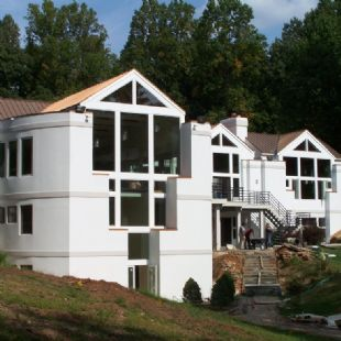 Marvin Infinity Fiberglass Windows and Patio Doors in Modern Northern Virginia Home