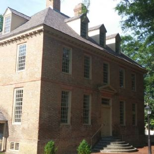 The Brafferton--William & Mary University Historic Building
